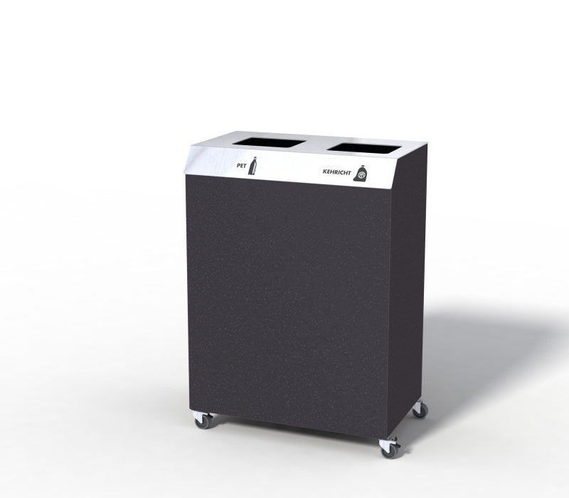 C-Bin Recyclingstation, C2, Abfallmobiliar, Abfallbehälter, Entsorgungssysteme, Public Waste bins, Poubelle Recyclage