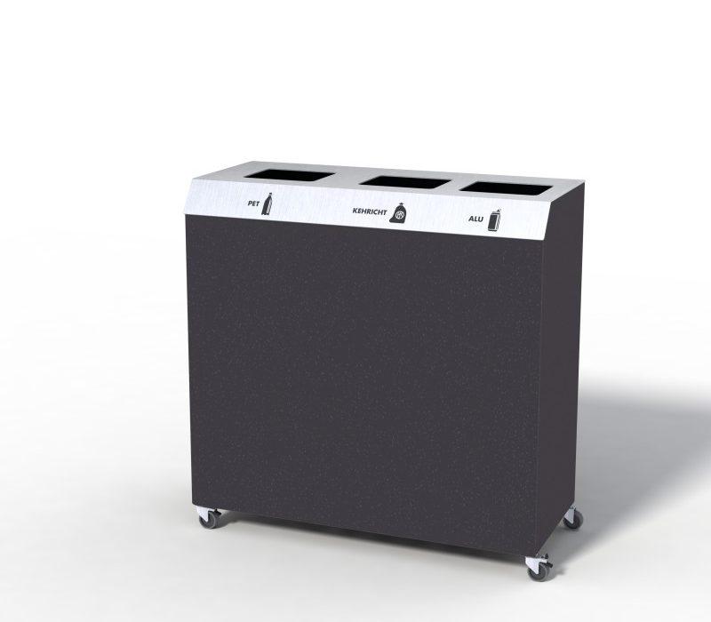 C-Bin Recyclingstation, C3, Abfallmobiliar, Abfallbehälter, Entsorgungssysteme, Public Waste bins, Poubelle Recyclage